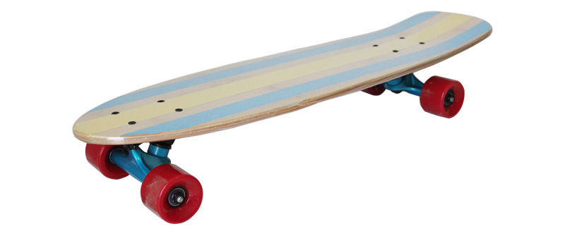 Bamboo and Maple Complete Cruiser Skateboard