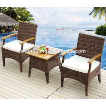 Hot sale aluminum wicker outdoor chair garden PE rattan furniture