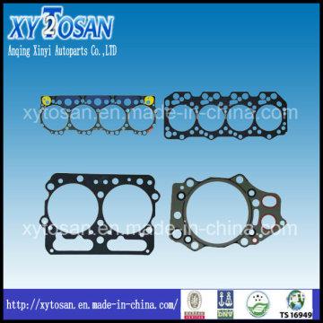 Junta da cabeça do cilindro da peça do motor / junta do jogo completo para Mitsubishi / Mazda / Hino / Toyota / Nissan / Renault