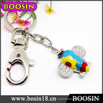 Porte-clés d'avion mignon / porte-clés d'avion en métal pour le cadeau de promotion # 15737