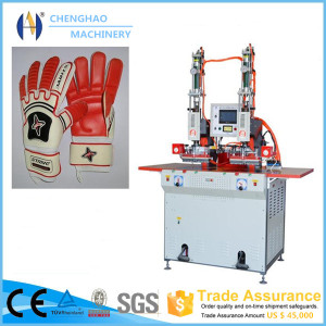 8KW Leather Gloves Embossing Machine