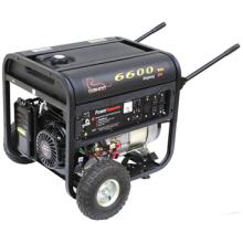CE утвержденный пластичный Топливный бак 6квт бензиновые генераторы (WK6600/WK6600E)