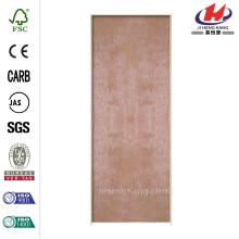30 pulg. X 80 pulg. Madera dura Flush suave Madera de abedul Chapa de abedul Composite Single Prehung Puerta interior
