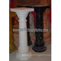 Corinthian Pillar with Stone Marble Granite Sandstone (QCM141)