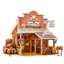 Wood Collectibles Toy for Global Houses-American Bar