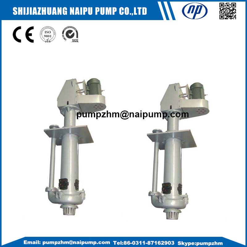 37 65QV vertical slurry pumps