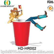 Promotional Disposable Plastic Red Party Cup