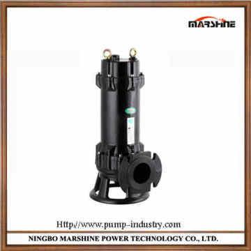 Pompe d'eaux d'égout GNWQ série coupe verticale