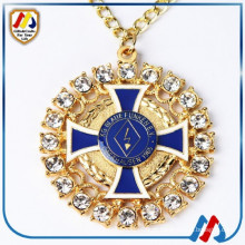 Colar da forma Medallions feitos feitos feitos sob encomenda