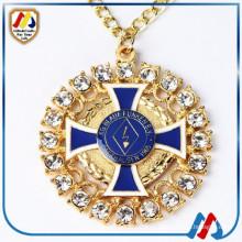 Мода ожерелье на заказ древние медальоны