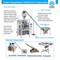Wheat Flour Powder Packing Machine (ND-F420/520/720)