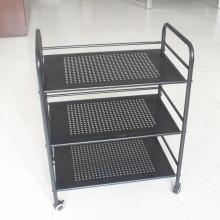 Rack de cozinha de metal novo design de 3 camadas