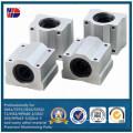 Fábrica de proceso de taller de mecanizado CNC de aluminio directamente (WKC-473)