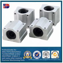 Aluminium CNC-Bearbeitungs-Shop-Prozess-Fabrik direkt (WKC-473)