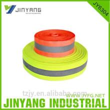 100 % Polyester gefärbt reflektierendes Gurtband