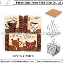 Schöne Cork Kaffeetasse Matte, Haigh Qualität Kaffeetassen Set