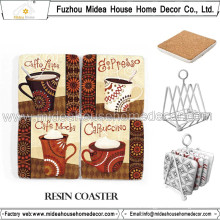 Beautiful Cork Coffee Cup Mat, Haigh Quality Coffee Cups Set