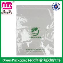золотой поставщик прозрачный пластиковый мешок для упаковывать мыла