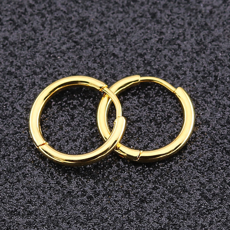 Small Gold Hoop Earrings