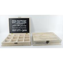 Nueva caja de madera Couture con rejillas