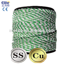 Polytape Polywire 400m Roll Poly Tape/wire Electric Fence Hot wire Farm Suit Solar Energiser