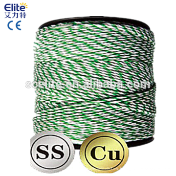 Polytape Polywire 400m Roll Poly Tape / wire Cerca eléctrica Hot wire Farm Suit Solar Energiser