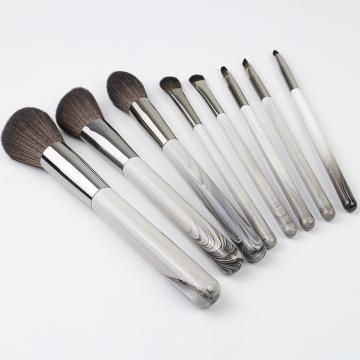 YC040 Ensemble de pinceaux de maquillage 8pcs
