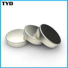 Ímãs do Neodymium do cilindro da Rare-Terra do desempenho magnético alto