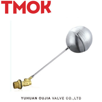 China manufacture high quality dn20 brass floating ball valve for toilet