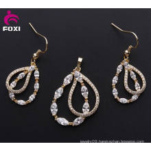 2016 Fashion Jewelry Copper Pendant Earring Sets