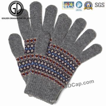 Beliebte Mode Hand Warm Winter Finger Acryl Bunte Knit Handschuhe