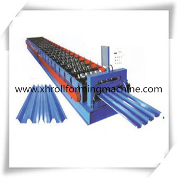 Russian Design Color Steel Metal Roofing Sheet Roll Forming Machines With High Quality