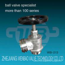 Wb-213 Hv Qrt Ss304 Dn65 Válvulas Hidrante De Acero Inoxidable China Wenzhou Fabricante