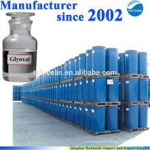 Fuente de la fábrica de alta calidad glyoxal 40% 107-22-2 con el mejor precio !!