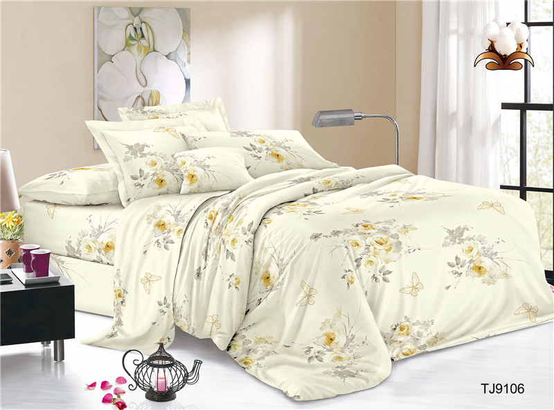 Digital Printing Polyester Voile Bed Cover