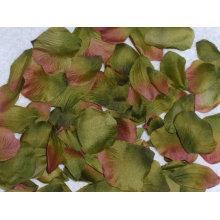 Natürliche Noten-Seide-künstliche Blumen-Blumenblatt-Rosen-Blumenblatt