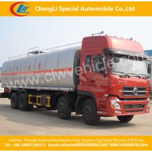 Caminhão do distribuidor do asfalto 8X4 Dongfeng25.4-27.6 toneladas