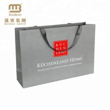China Fabrik Benutzerdefinierte Logo Print Art Papier Material Große Geschenkpapierbeutel
