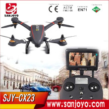 Hot Sale Cheerson CX-23 CX23 Brushless 5.8G FPV With 720P Camera OSD GPS RC Quadcopter RTF SJY-CX23