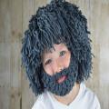 Octopus Magic Beard Crochet Beanie crochet scarf