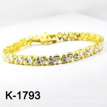 Мода Серебряный Micro Pave CZ браслеты (K-1793. JPG)