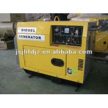 Охлаженный воздухом молчком генератор 5kva
