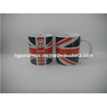 11oz Decal Printed Mug, Full Printing Mug. Promotional Mug