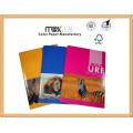 A4 44sheets Lines Ruling Libros de ejercicios con costura de sillín