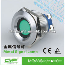 Suggested Panel Cutout 28mm LED Auto Indicator Lamp