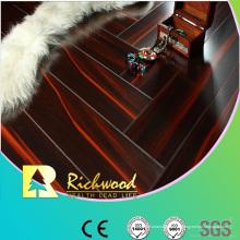 Revestimento laminado resistente à água da faia do espelho de 12.3mm E1 do anúncio publicitário