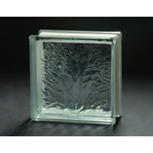 190 * 190 * 80mm Coral Glass Block com AS / NZS 2208
