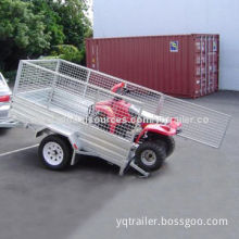 Tipping Cage Trailer, Powder-coated Finish, 1880 x 1280mm Chassis Size