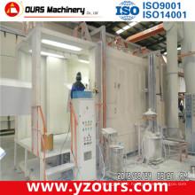Machine d'enduit de poudre manuel / automatique pour produits métalliques