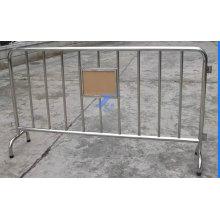 Barrière temporaire de contrôle de foule en aluminium